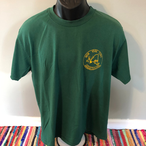 Vintage Other - 80s New York State Conservation Officers Shirt NYS